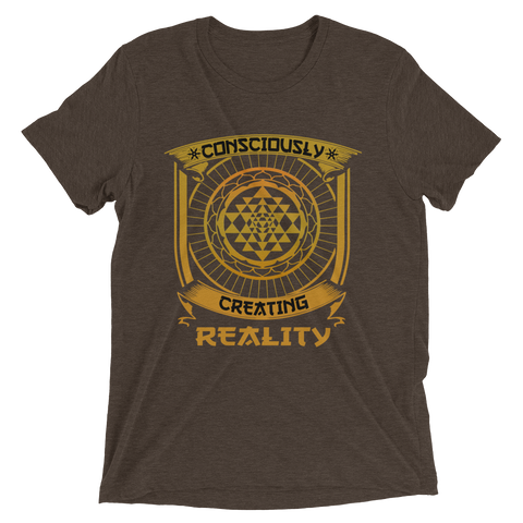 Consciously Creating Reality: Short sleeve t-shirt