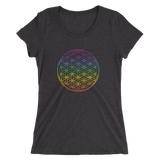Chakra Healing: Ladies' short sleeve t-shirt