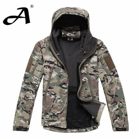 Army Camouflage Coat Military Jacket Waterproof