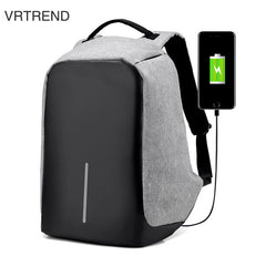 VRTREND USB Anti-Theft Travel Backpack