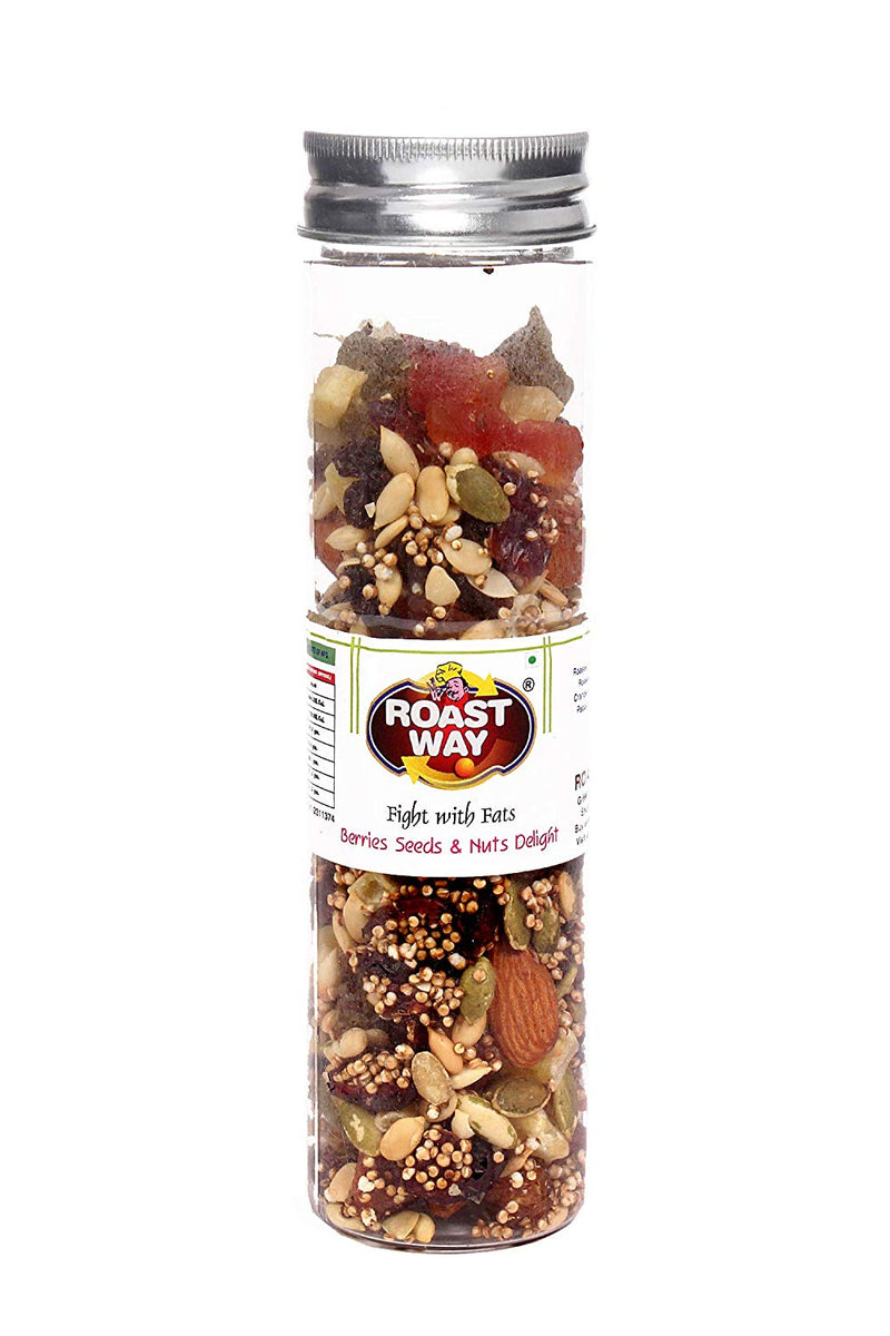 Trail mix. Berries, seeds and Nuts Delight