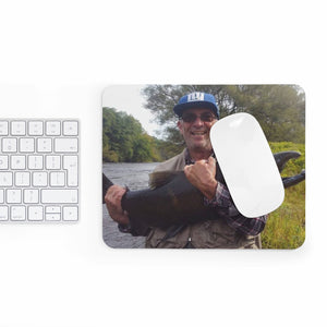 Joestradamus King Salmon Mouse Pad