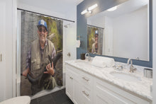 Joestradamus Fishing Shower Curtain