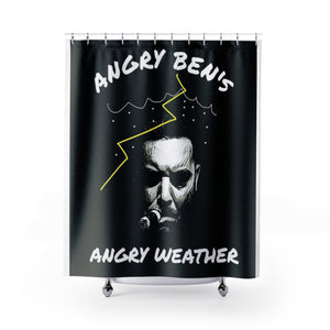 Angry Ben Shower Curtain