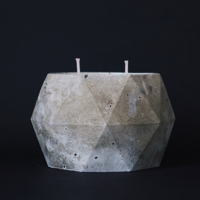 Refined Concrete | XL Poly Candle