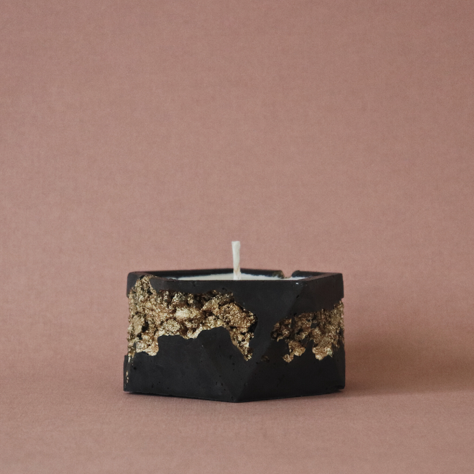 Obsidian Goldstruck | Icosa Candle
