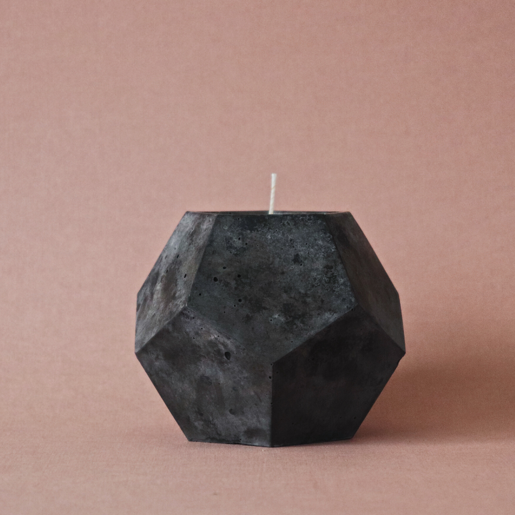 Obsidian Concrete | Dodex Candle