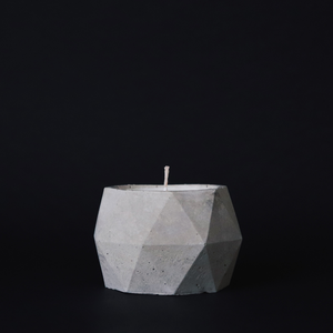 Refined Concrete | Poly Candle