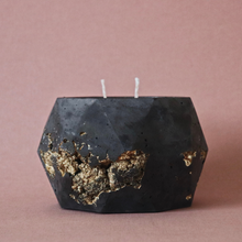 Obsidian Goldstruck | XL Poly Candle