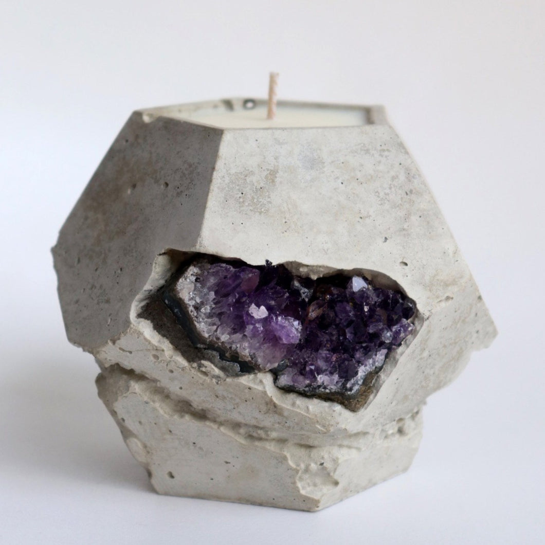 Amethyst Geode | Dodex Candle