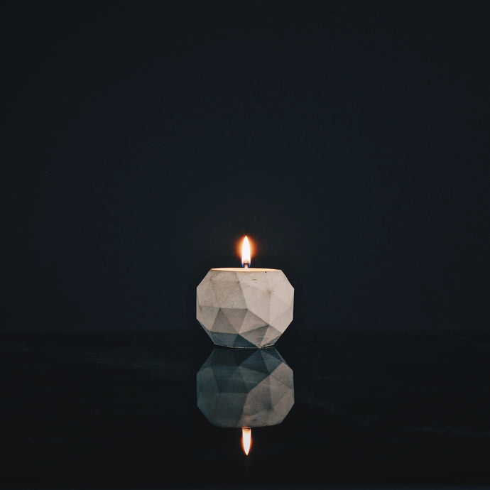 Refined Concrete | Teufelsberg Tealight Candle