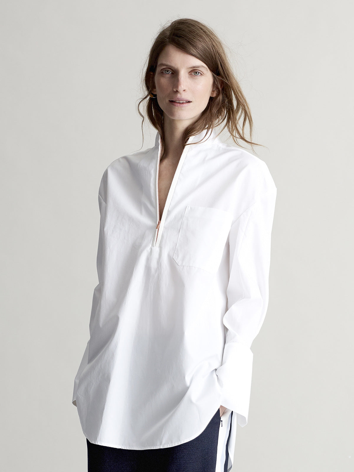 Abby White Shirt - Sykes London