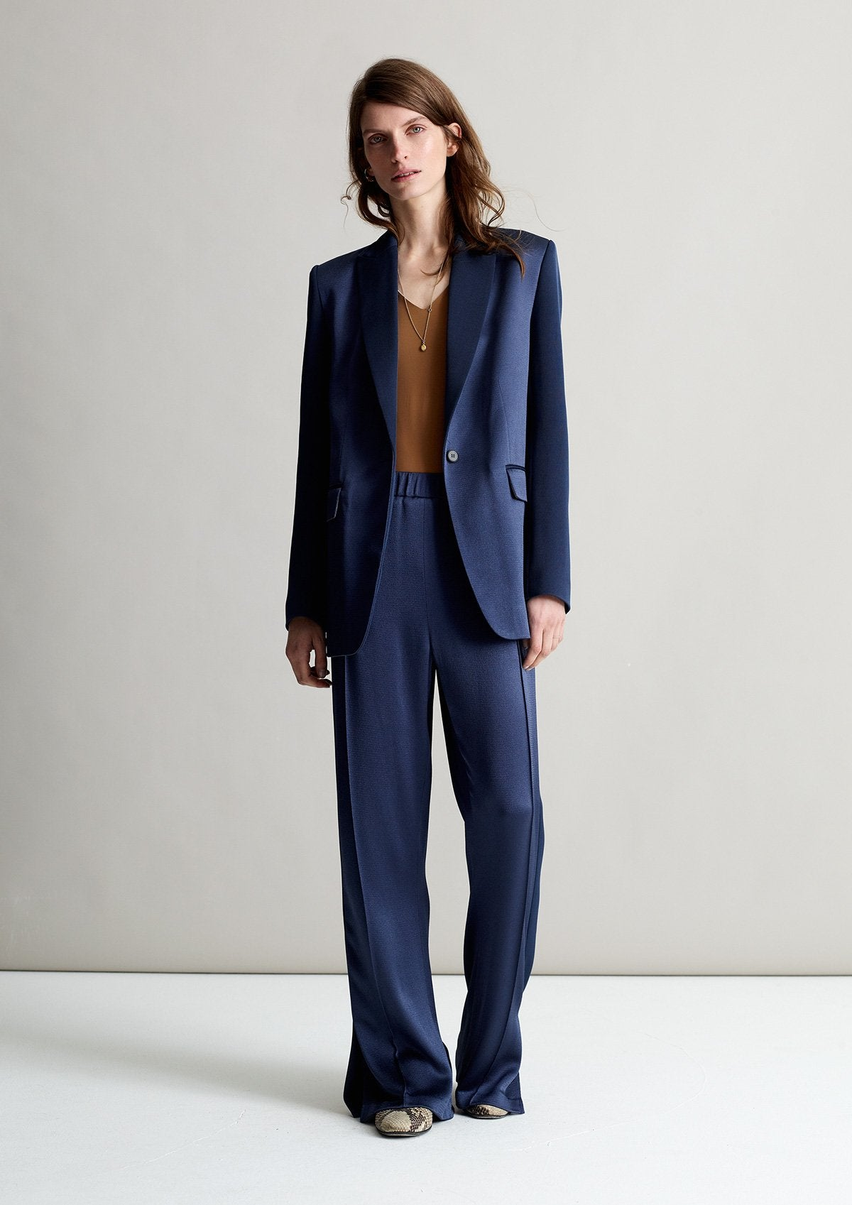 Arabella Denim Sporty Tux