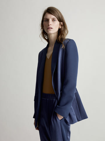 Arabella Denim Sporty Tux - Sykes London