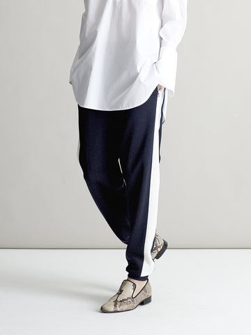 Esther Navy Jogger - Sykes London