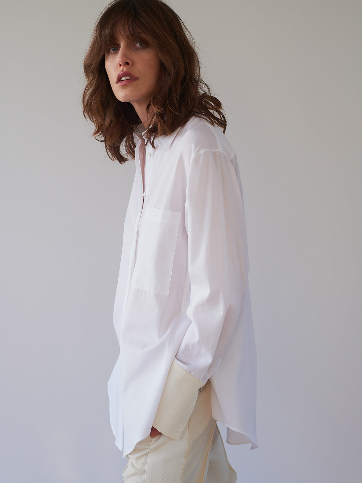 Tanya Shirt, White - Sykes London