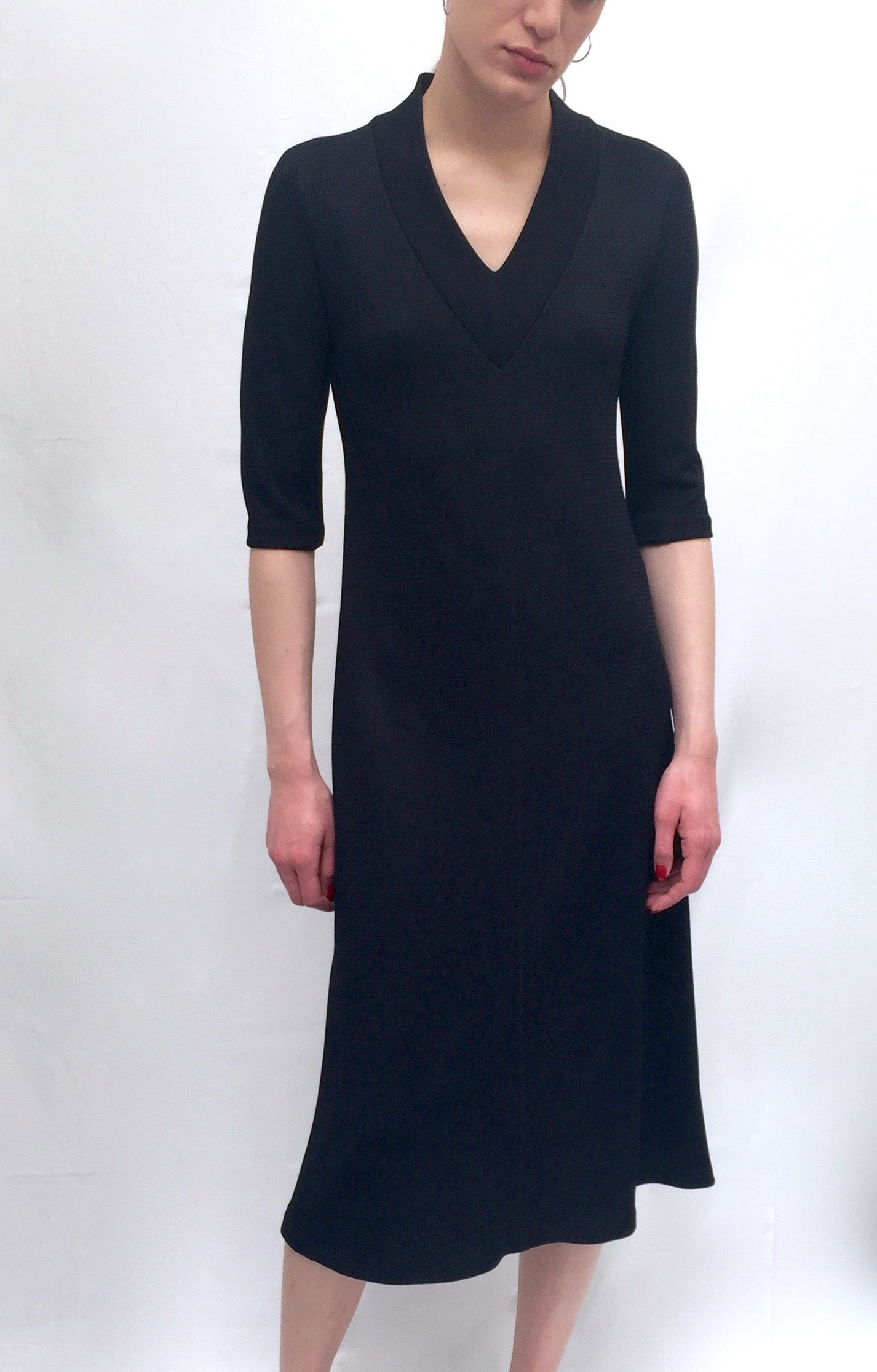 Emery Midi Dress, Navy