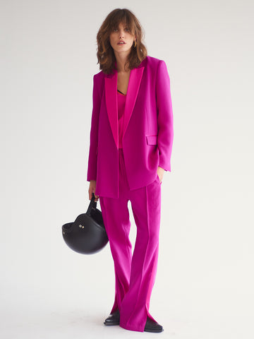 Cora Wrap Tux, Magenta - Sykes London