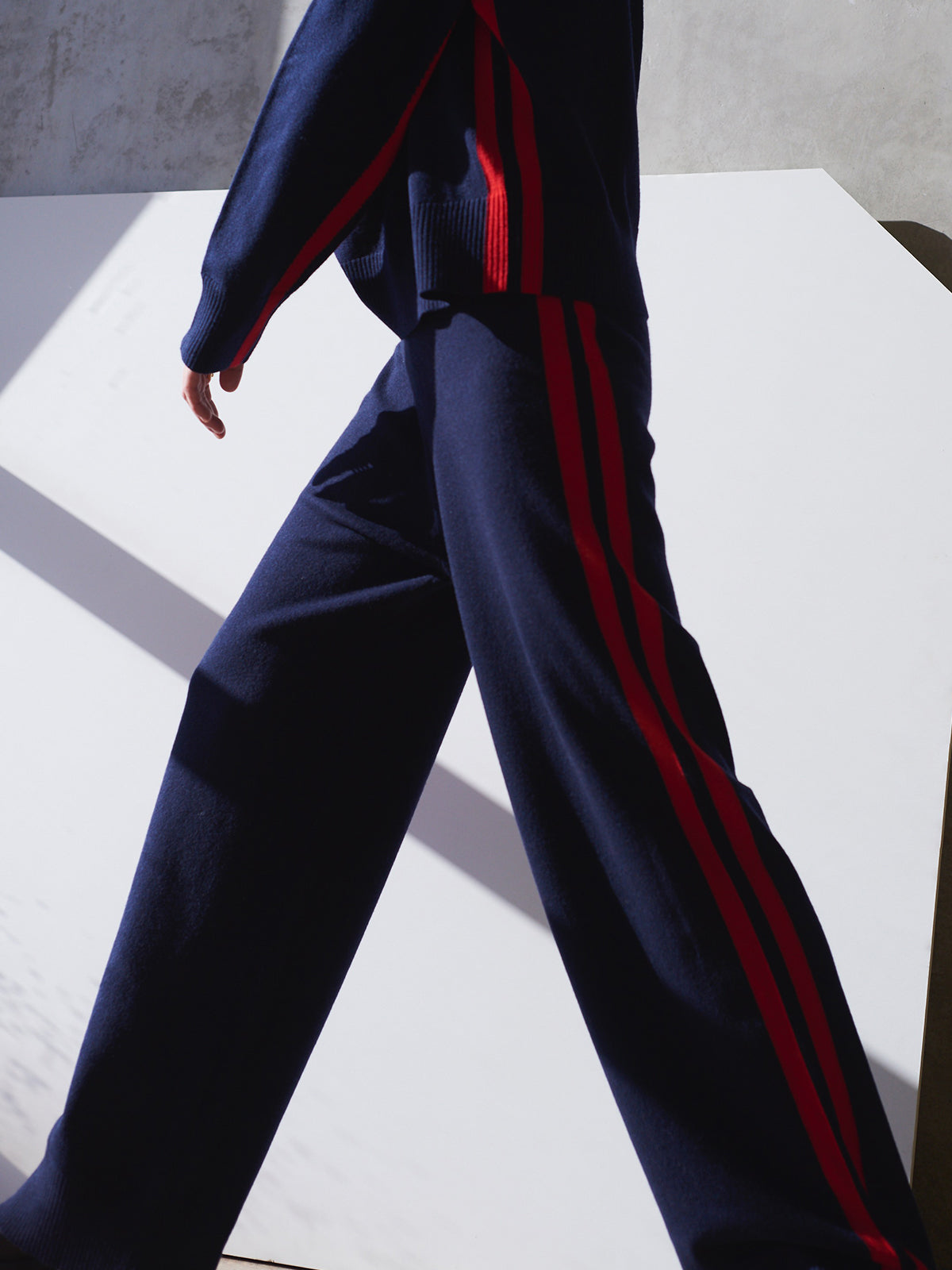 Dash Track Pant, Navy - Sykes London