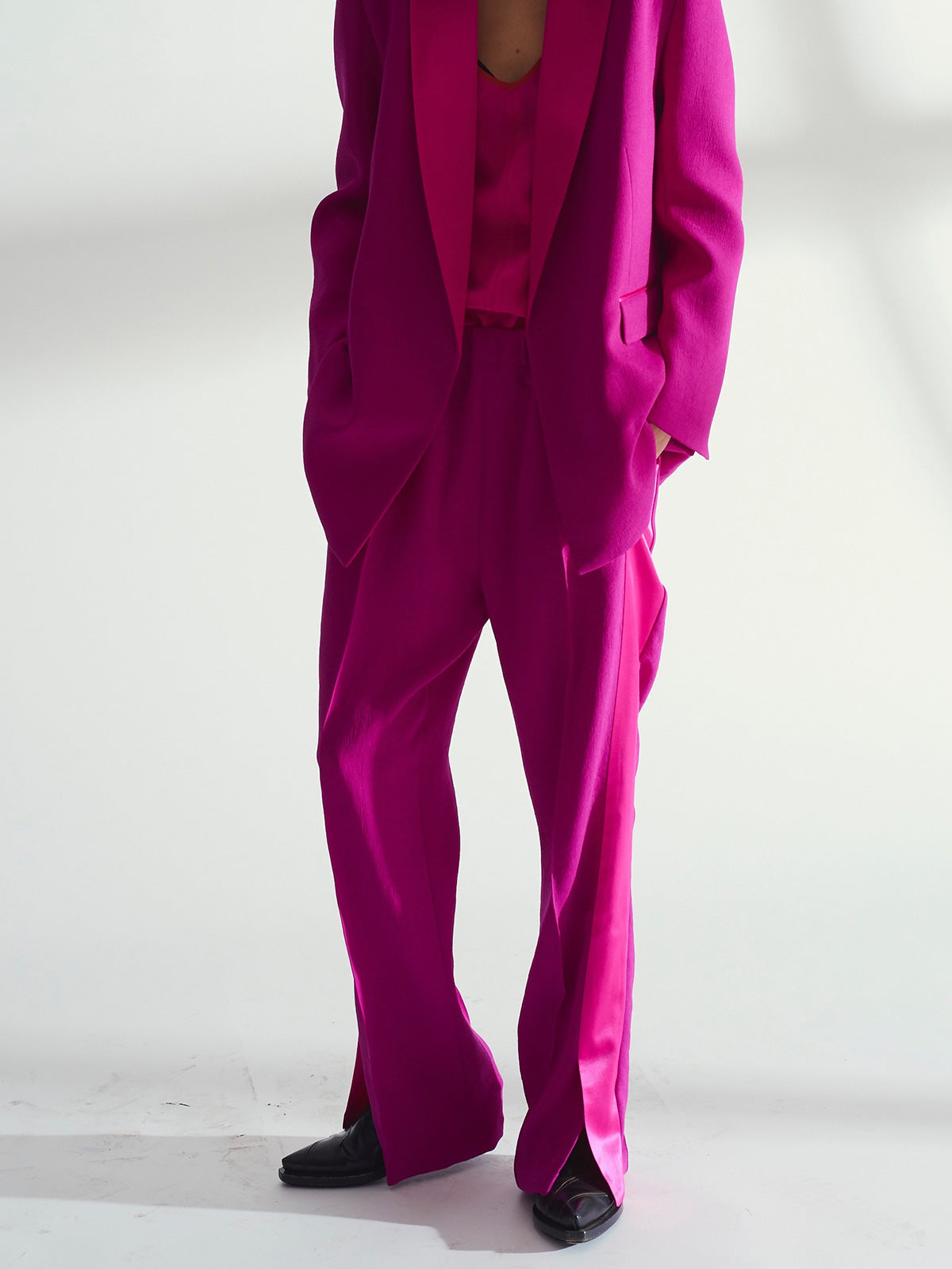 Lia Trackpant, Magenta - Sykes London