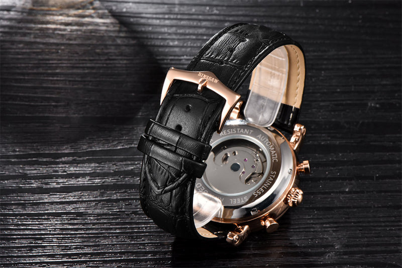 Mechanical Dual Time Watch - Silk & Cotton