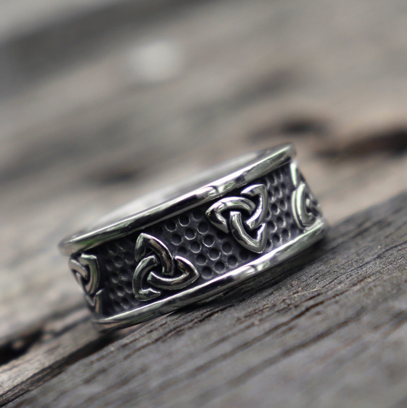 Stainless Steel Viking Ring