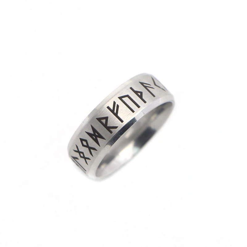 Odin Ring - Polished Stainless Steel