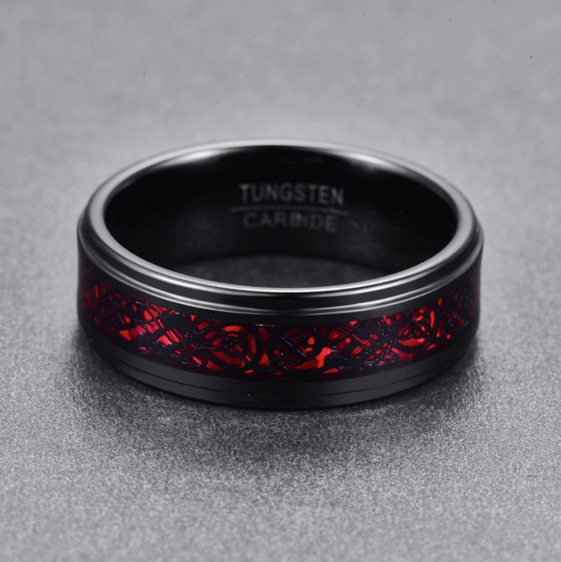 Special Edition Dragon Ring - Red