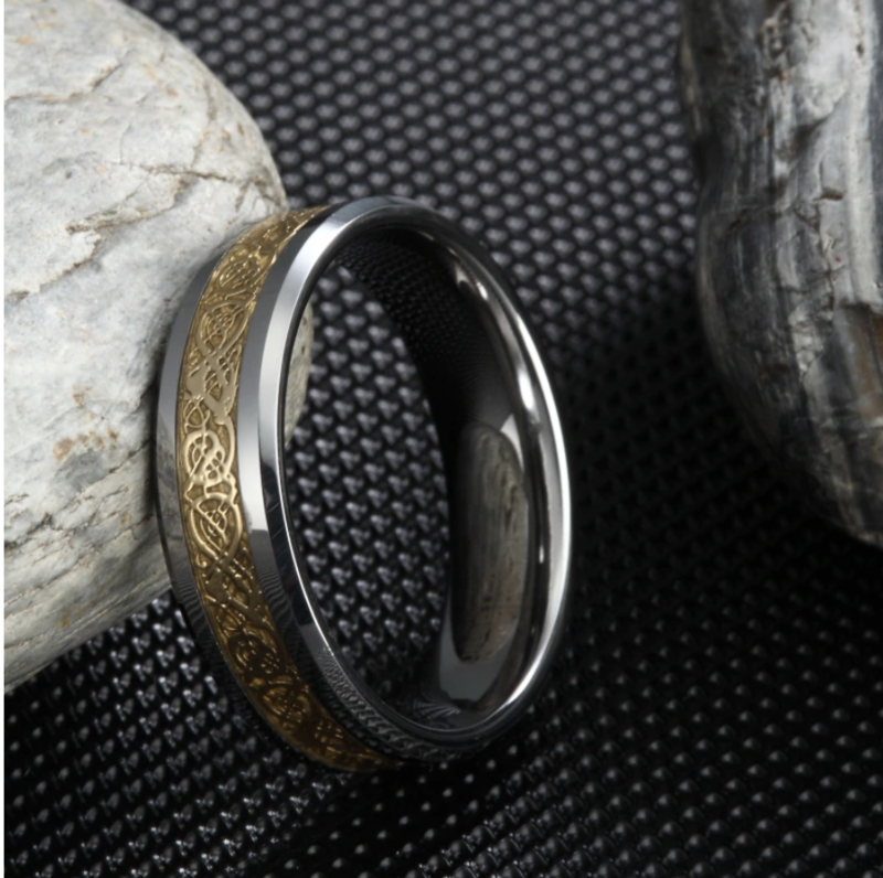 Special Edition Dragon Ring - Gold
