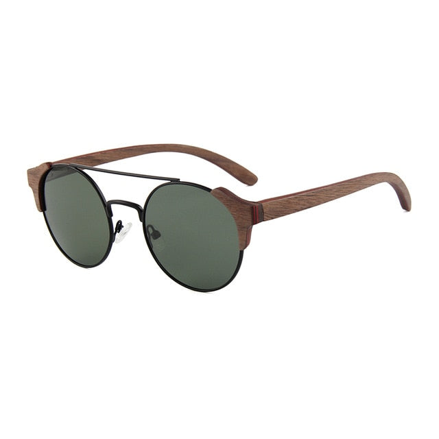 Wooden Sunglasses: The Tropical