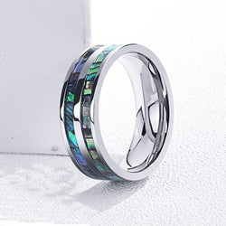 Double Abalone Ring (FREE)