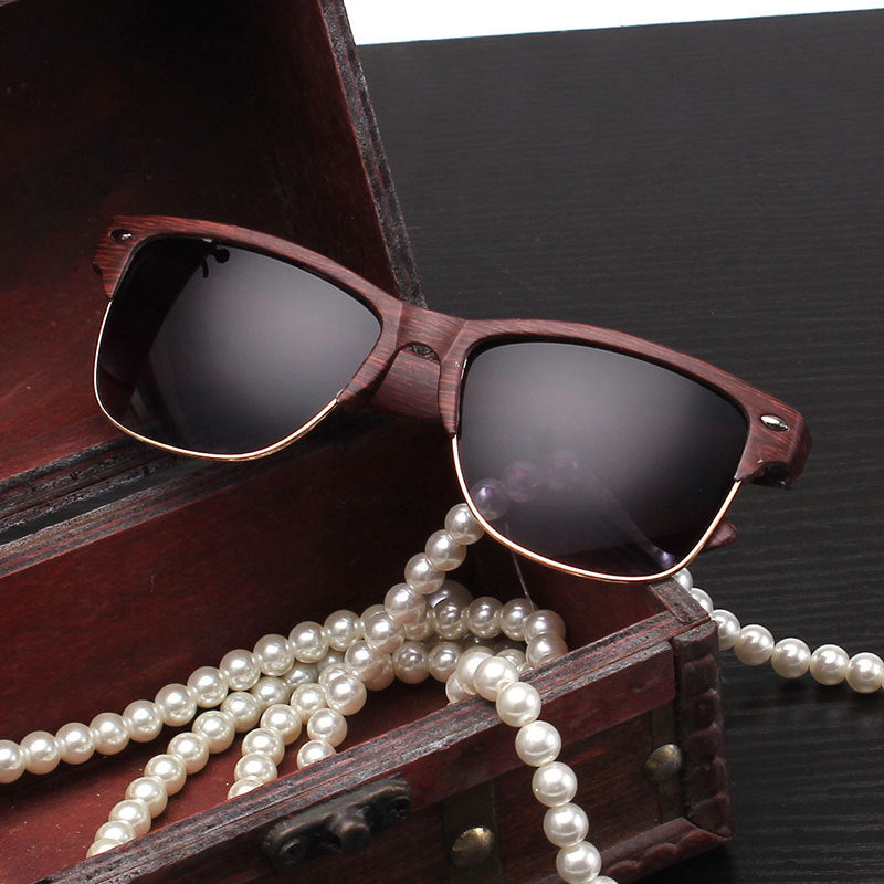 Wooden Sunglasses (FREE) - Silk & Cotton