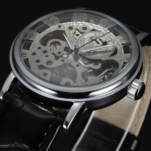 Skeleton Verne Watch - Silk & Cotton
