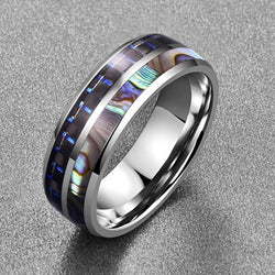Mystery Carbon Fiber Ring - Silk & Cotton
