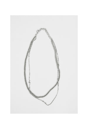 Freja Double Chain Necklace