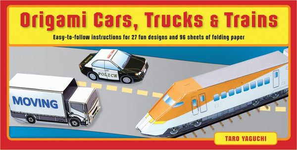 Origami Cars, Trucks & Trains Kit