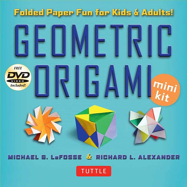 Geometric Origami Mini Kit (with DVD)