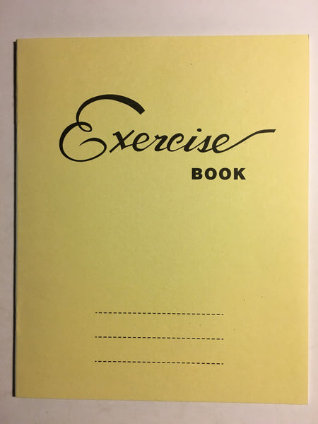 10 Squares Writing Exercise Book