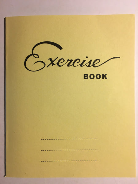 6 Squares Writing Exercise Book