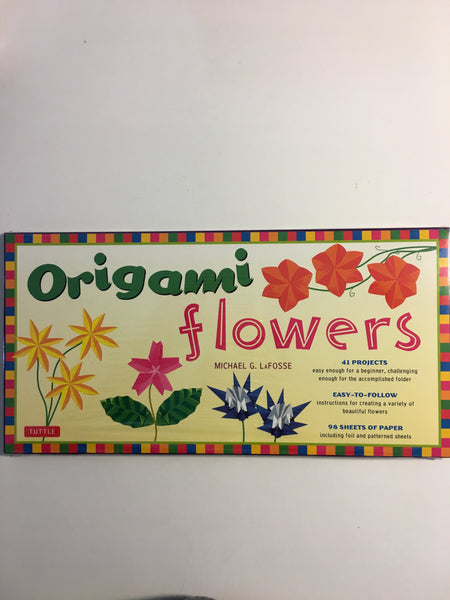SALE Origami Flowers Kit