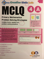 MCLQ Primary Math Problem Solving Workbook Level 4A