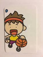 Chinese Matching Flash Cards: Sports