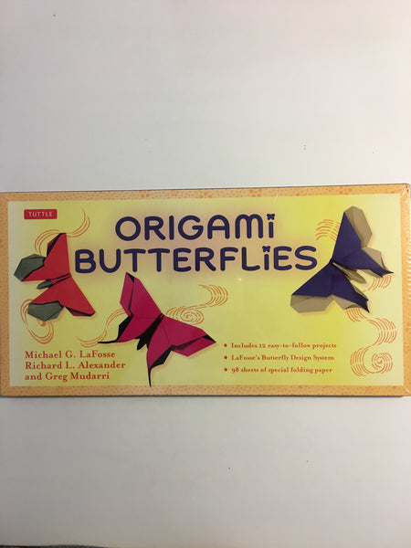Origami Butterflies Kit