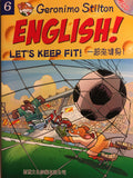 Geronimo Stilton Learn English Series: #6 Let's Keep Fit
