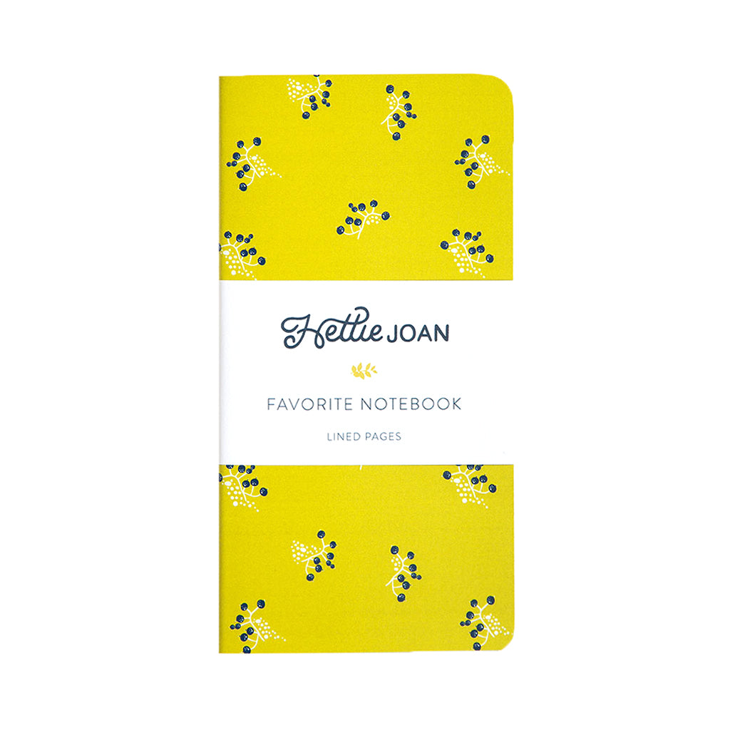 Mustard Favorite Notebook