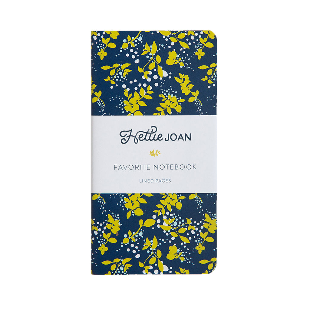 Navy Favorite Notebook