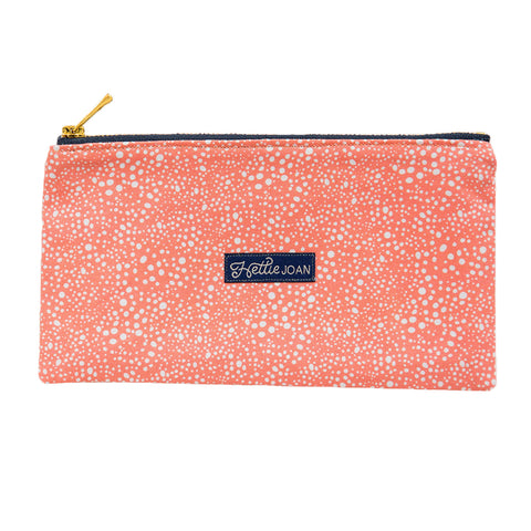 Coral Pebbles Medium Pouch