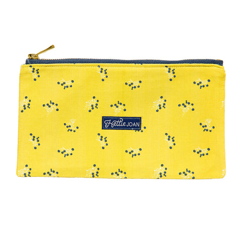 Mustard Berries Medium Pouch