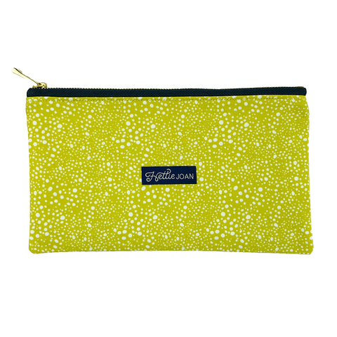 Mustard Pebbles Medium Pouch
