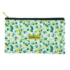 Mint Garden Medium Pouch